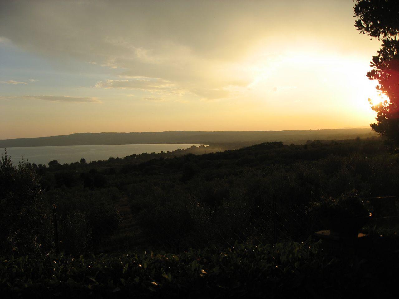 Blick über den See von Angela und Pierro aus
