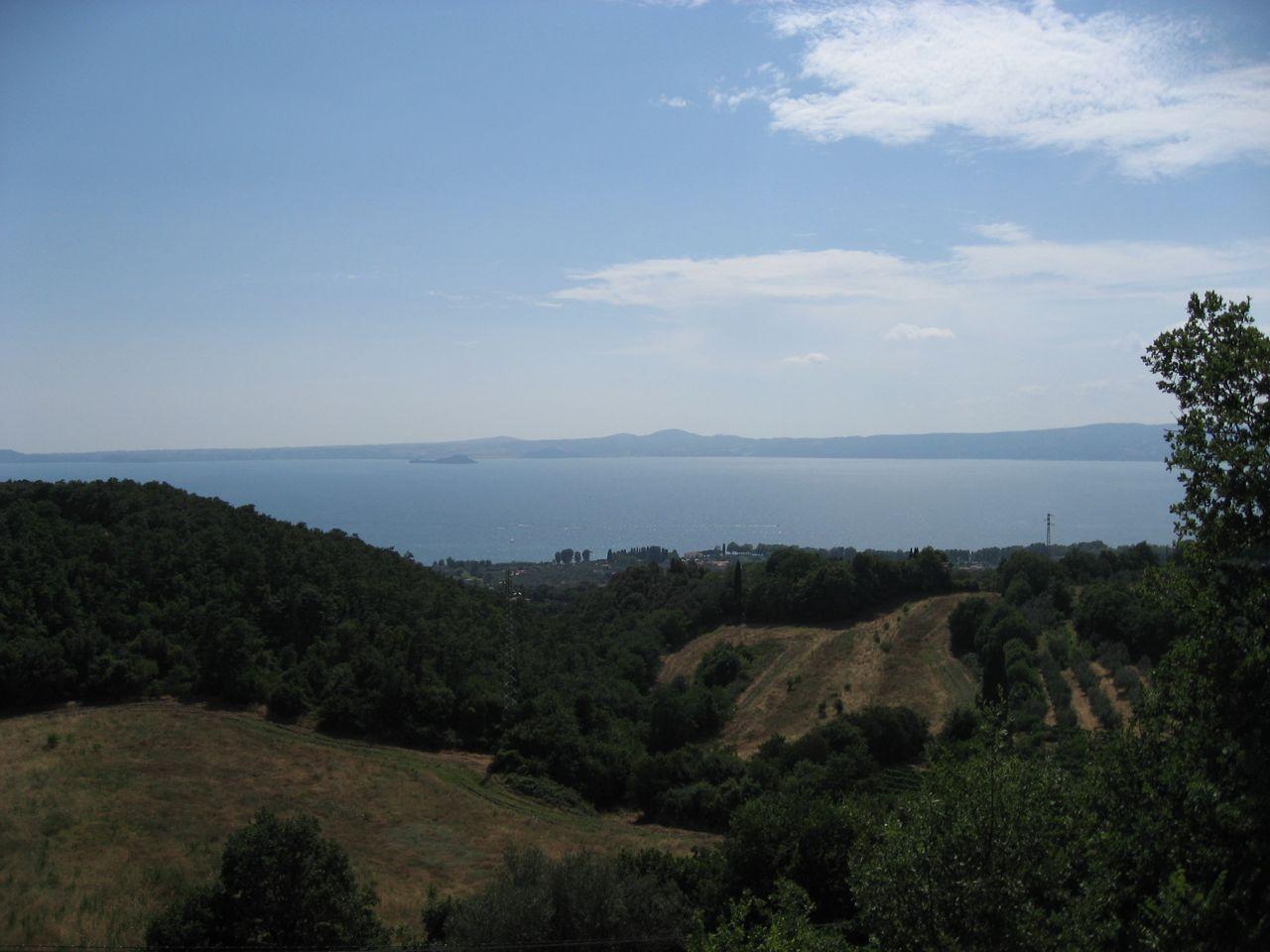 Erster Blick auf den Lago