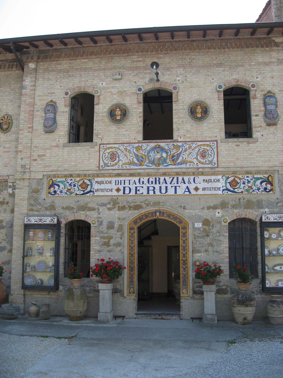 Majoliche Grazia in Deruta