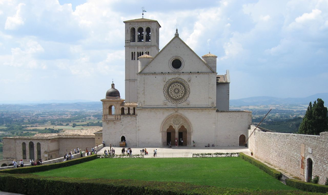 Die Grabeskirche San Francesco in Assisi