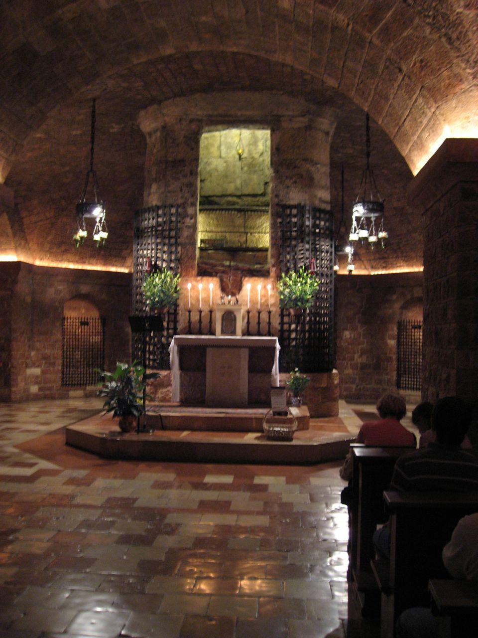 Das Grab des heiligen Franziskus