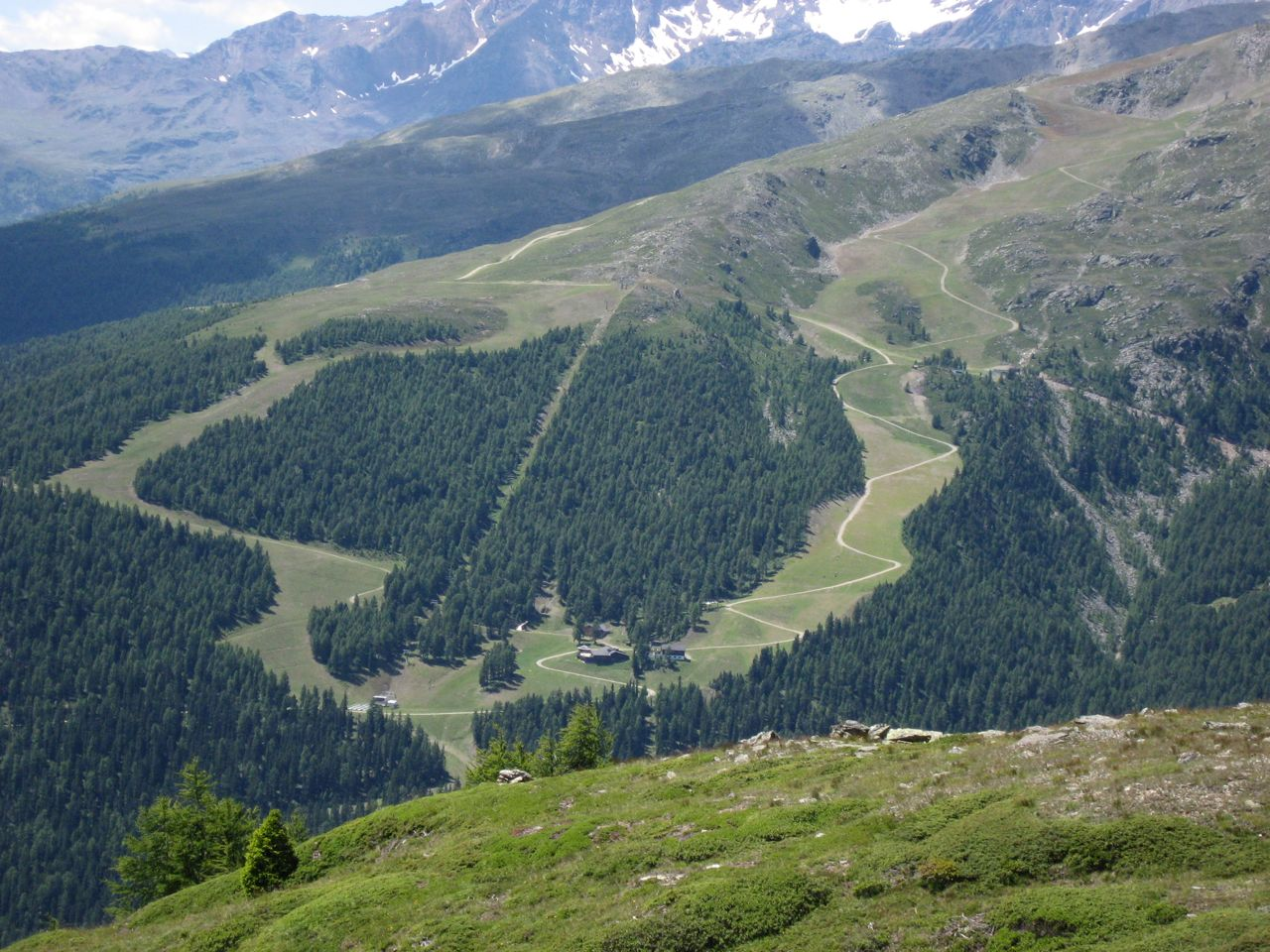 skigebiet Schwemmalm im Sommer
