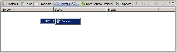 Anlage eines Tomcat Servers